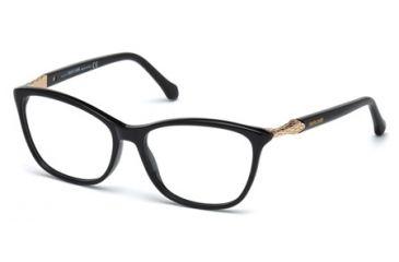6836a99554 Roberto Cavalli RC0952 Eyeglass Frames - Shiny Black Frame Color