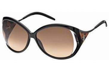Roberto Cavalli RC573S Sunglasses - Shiny Black Frame Color, Brown Gradient Lens Color