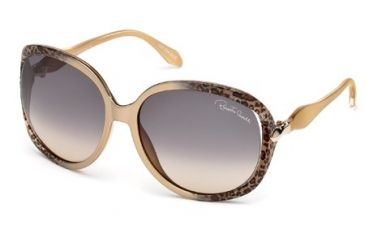 Roberto Cavalli RC732S Sunglasses - Gold Frame Color, Gradient Smoke Lens Color