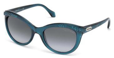 Roberto Cavalli RC789S Sunglasses - Blue Frame Color, Gradient Blue Lens Color