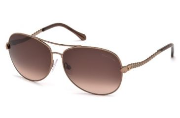 Roberto Cavalli RC792S Sunglasses - Shiny Light Brown Frame Color, Gradient Brown Lens Color