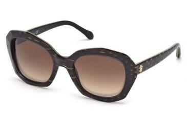 Roberto Cavalli RC797S Sunglasses - Black Frame Color, Gradient Brown Lens Color