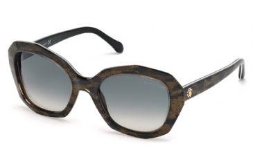 Roberto Cavalli RC797S Sunglasses - Black Frame Color, Gradient Smoke Lens Color