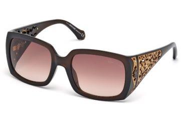 Roberto Cavalli RC804S Sunglasses - Dark Brown Frame Color, Gradient Brown Lens Color