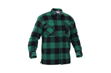 Rothco Extra Heavyweight Buffalo Plaid Sherpa-lined Flannel Shirts ... 44e5f5e277e