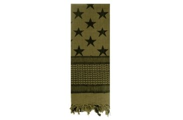 2-Rothco Stars and Stripes Shemagh Tactical Desert Scarf