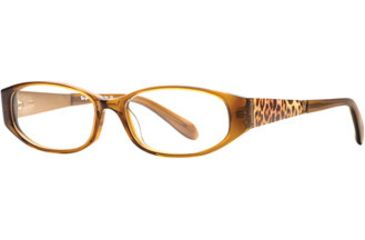 Rough Justice RJ Feisty SERJ FEIS00 Single Vision Prescription Eyeglasses - Bronze SERJ FEIS005135 BN