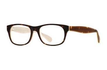 Rough Justice RJ Scandalous SERJ SCAN00 Single Vision Prescription Eyeglasses - Cappuccino SERJ SCAN005040 TO
