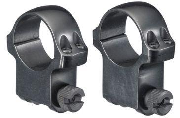 Ruger M77 Scope Ring Set 1 Inch High Blue