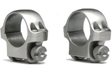 Ruger Scope Ring 4KO Medium Stainless Steel Offset 90288