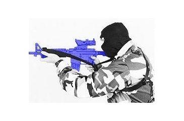 1-BlackHawk S.W.I.F.T Sling M4/Side Swivel Black 70GS04BK