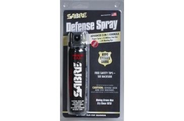 Sabre 4.36 oz flip-top magnum 120, BLACK M-120FT-OC