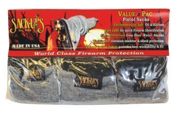 Sack Ups Value-Pac Pistol Sack-Ups 5 Per Pack Camouflage Grey