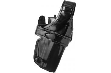Safariland 070 Mid-Ride LV3 Duty Holster, Right, Gloss Black, 3in Belt Slots - Sig P220