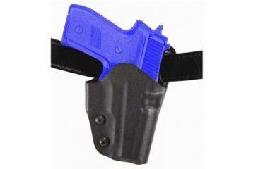 Safariland 0707 Belt Slide Holster - STX Black, Left Hand 0707-71-132