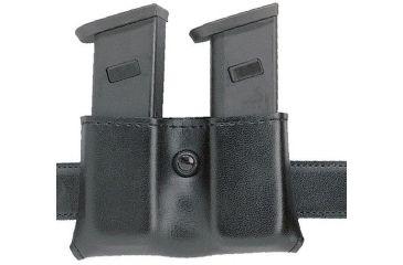 Safariland 079 Concealment Magazine Holder, Snap-On, Double - Carbon Fiber Look Black, Ambidextrous 079-118-65