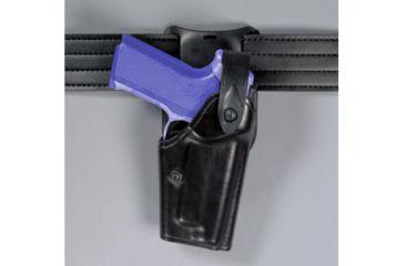 Safariland 6285 1.50 Belt Drop, Level II Retention Holster - Basket Black, Left Hand
