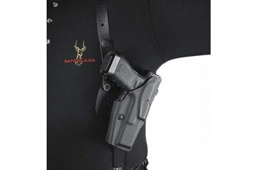 Details about Safariland 1051 ALS Shoulder Holster w/Dual Mag Pouch, Sphinx  Sdp : 1051-282-411