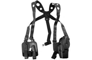 Safariland 1060 Shoulder Holster, Plain Black, Right Hand - Sig P230 - 1060-85-1-21