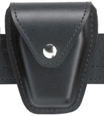 Safariland 190H Handcuff Pouch, Top Flap, for Standard Hinged Handcuffs 190H-22PBL