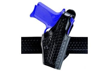 Safariland 2 ''Hi-Ride'', Level I Retention Holster - Plain Black, Right Hand 2-53-61-2R