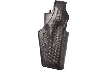 Safariland 200 inTop Gunin Mid-Ride, Level I Retention Holster - Cordovan Basketweave, Right Hand 200-84-071