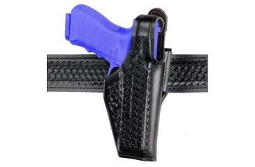 Safariland 200 Top Gun Mid-Ride, Level I Retention Holster Old BL Style 200-383-161