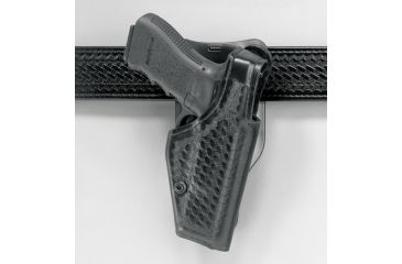 "Safariland 2005 ""Top Gun"" Low-Ride, Level I Retention Holster - Basket Black, Right Hand 2005-21-181"