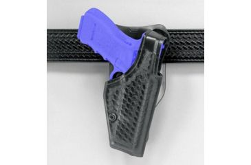 Safariland 2005 ''Top Gun'' Low-Ride, Level I Retention Holster - Plain Black, Right Hand 2005-383-161