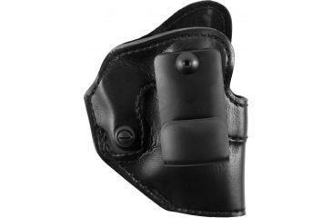 Safariland 27 Inside-the-Pants Holster, Plain Black, Right Hand - Ruger SP101, S&W 31 & Similar - 27-01-61