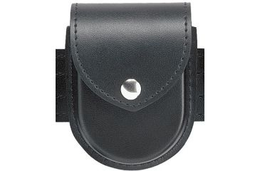 Safariland 290 Double Handcuff Pouch, Top Flap 290-4PBL