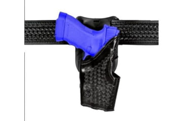 Safariland 2955 Low-Ride, Level II Retention Holster - Hi Gloss Black, Left Hand, Old BL Style 2955-383-92OBL