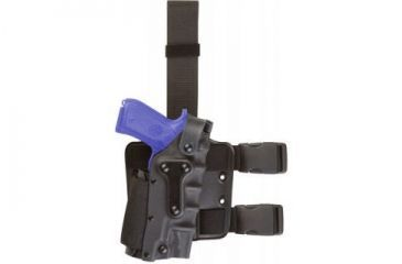 Safariland 3084 Military Tactical Holster - STX Tactical Black, Ambidextrous