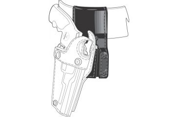Safariland 325 Duty Belt Drop, Holster Adapter 325-9