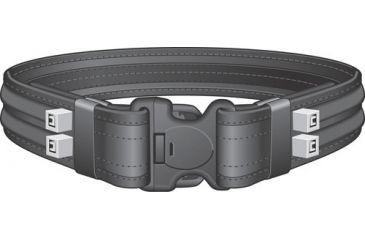 1-Safariland 4307 Ballistic Nylon Laminated Duty Belt w/ 3X Locking Buckle 4307-0-4