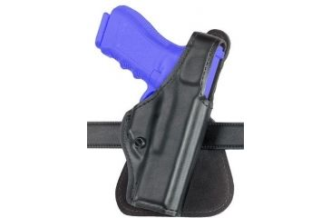 Safariland 518 Paddle Holster - Plain Black, Left Hand 518-383-62