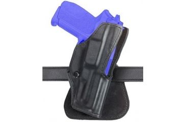 Safariland 5181 Open-Top Paddle Holster - Plain Black, Left Hand 5181-51-62
