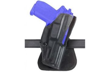 Safariland 5181 Open-Top Paddle Holster - Plain Black, Right Hand 5181-18-61