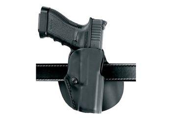 1-Safariland 5188 Paddle Holster for Pistols - STX Plain Black, Right Hand 5188-73-411