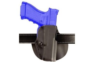 2-Safariland 5188 Paddle Holster for Pistols - STX Plain Black, Right Hand 5188-73-411
