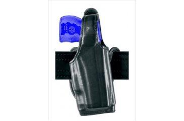 Safariland 519 EDW Holster with Thumb Break, Cross Draw - Plain Black, Left Hand 519-164-62