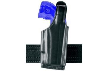 Safariland 520 EDW Holster with Thumb Break, Clip on Belt Loop, Adjustable Angle - Nylon Look Black, Right Hand 520-64-261
