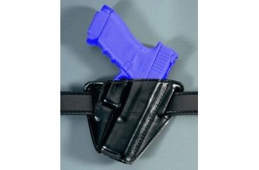 Safariland 528 Open Top Pancake Holster - Plain Black, Left Hand 528-140-62
