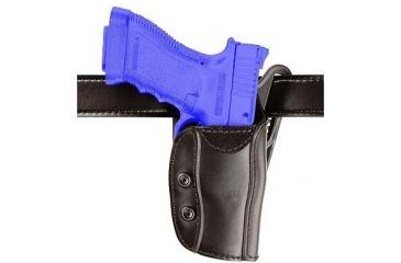 Safariland 567 Custom Fit for Pistols Holster - STX Plain Black, Left Hand 567-09-412