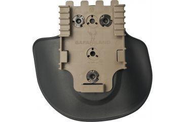 Safariland 568bl Paddle Attachment Plane Fde Brown Right Hand Wqls Molle Receiver Plate 568bl 1 551 Ms22 Ds Hh 568bl 1 551 Ms22