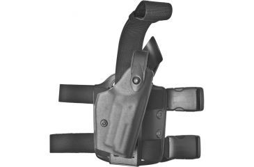 Safariland 6004 SLS Tactical Holster - Tactical Black, Right Hand 6004-174-121