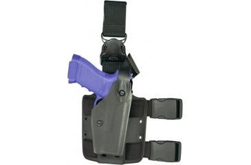 Safariland 6005 SLS Tactical Holster w/ Quick Release Leg Harness - STX Foliage Green, Left Hand 6005-148-542