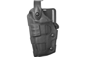 Safariland 6070 Raptor Level III, Mid-Ride UBL Holster - STX TAC Black, Left Hand 6070-774-132