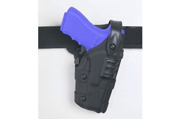 Safariland 6070 Raptor Level III, Mid-Ride UBL Holster - STX TAC Black, Right Hand 6070-84-131
