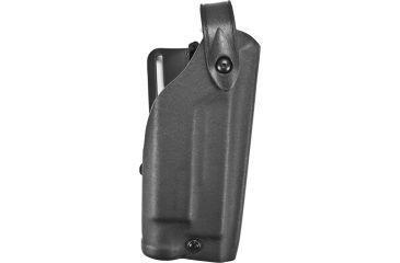 Safariland 6280 Level II Mid-Ride Holster w/Sentry, STX Black, Right Hand - Glock 17/22 w/Tactical Light